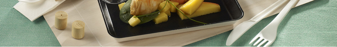 Plateaux-repas pour livraison en entreprise et l'événementiel